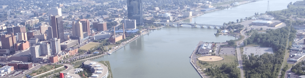 Toledo from the TPD Helicopter